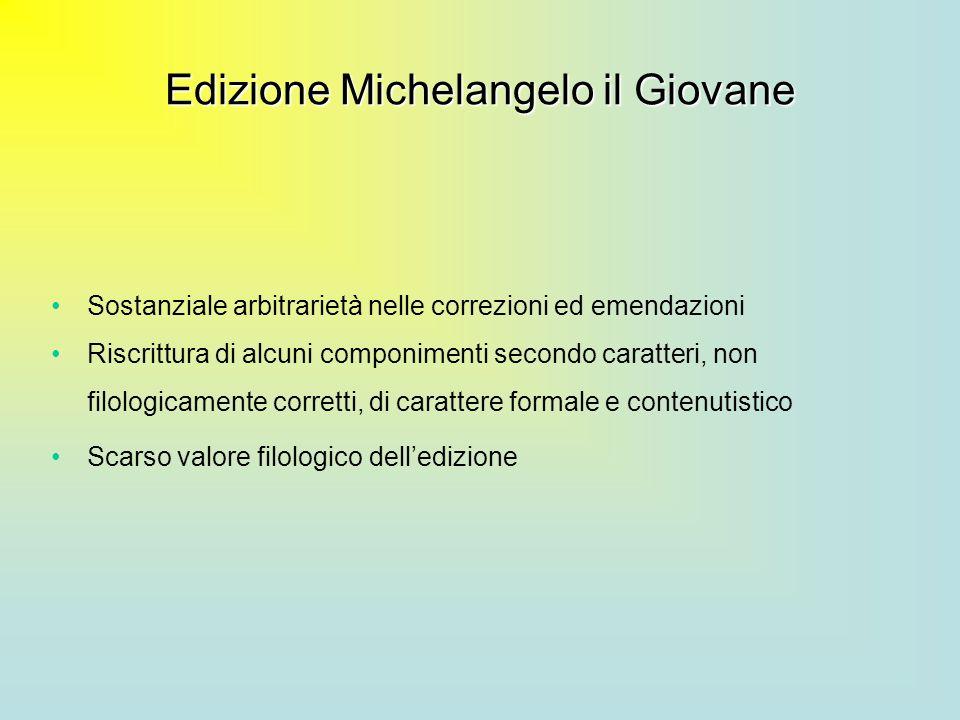 Edizione Michelangelo il Giovane