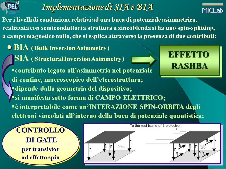 Implementazione di SIA e BIA