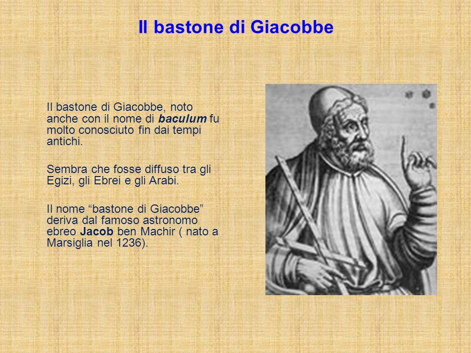 Il bastone di Giacobbe Il bastone di Giacobbe, noto anche con il nome di baculum fu molto conosciuto fin dai tempi antichi.