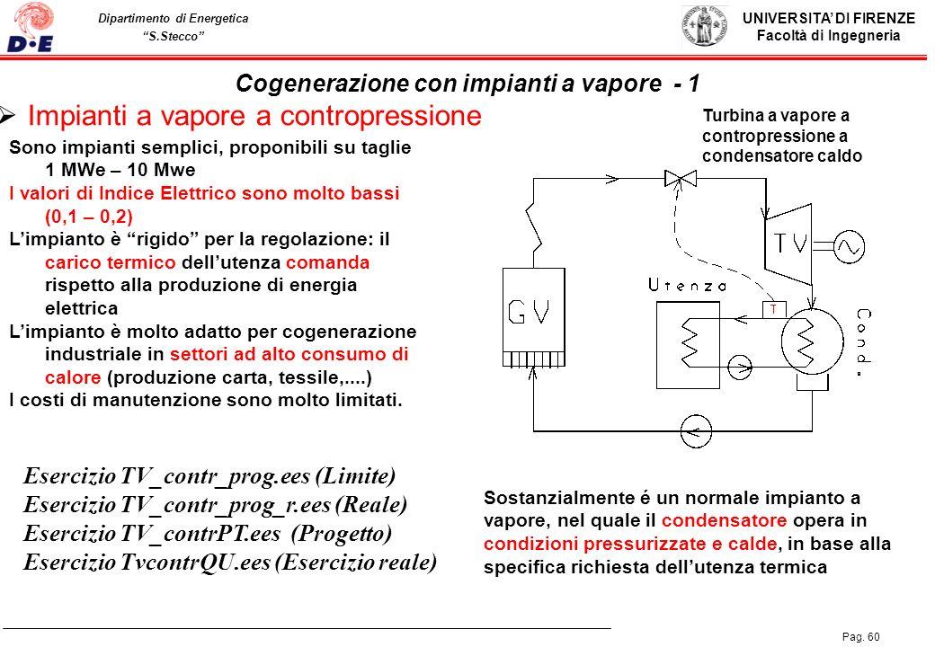 Cogenerazione con impianti a vapore - 1