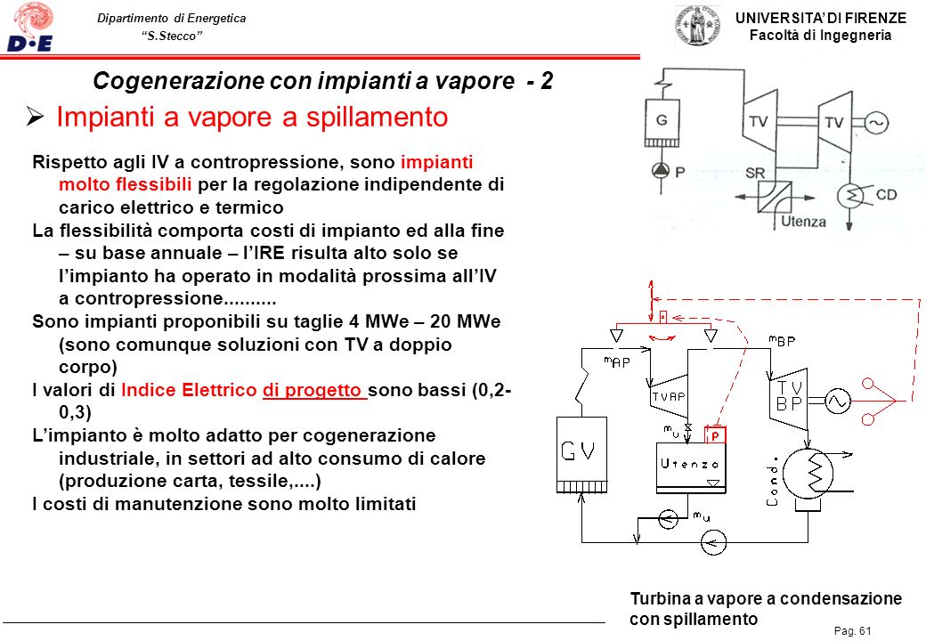 Cogenerazione con impianti a vapore - 2