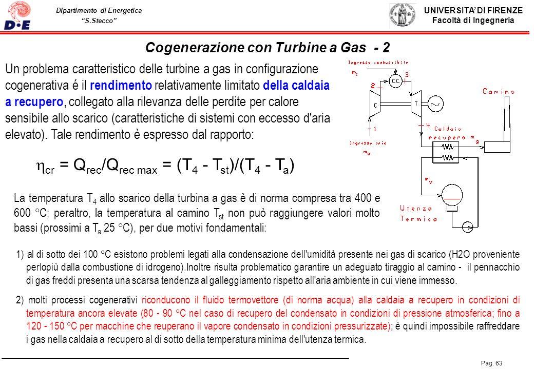 Cogenerazione con Turbine a Gas - 2