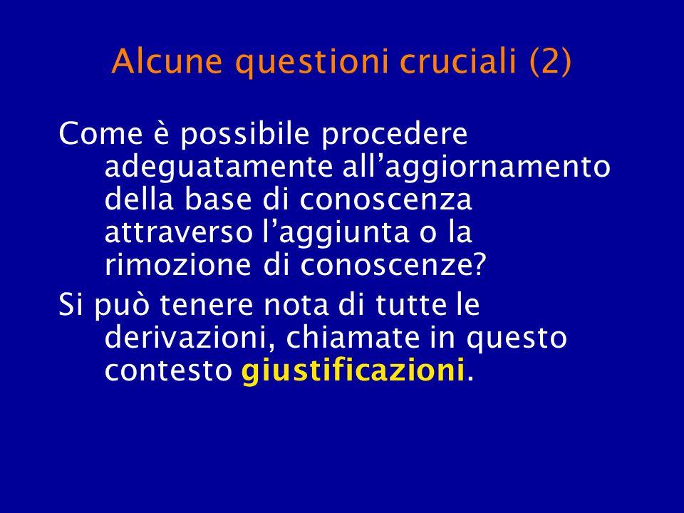 Alcune questioni cruciali (2)