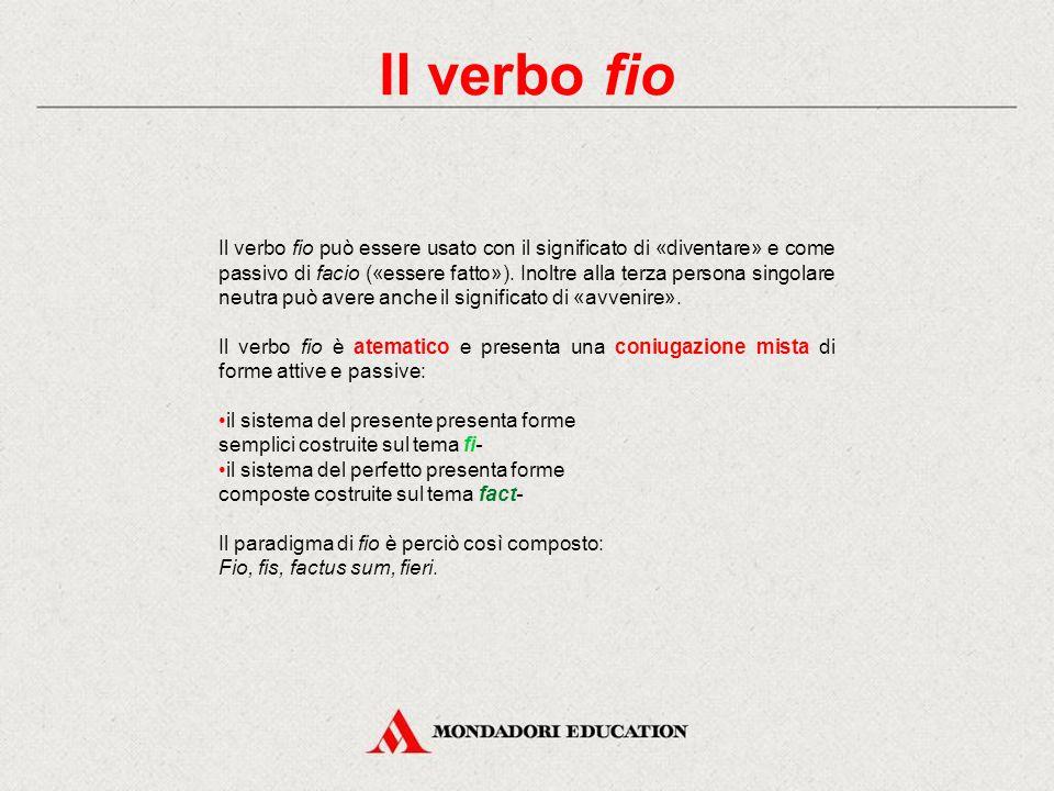 Il verbo fio