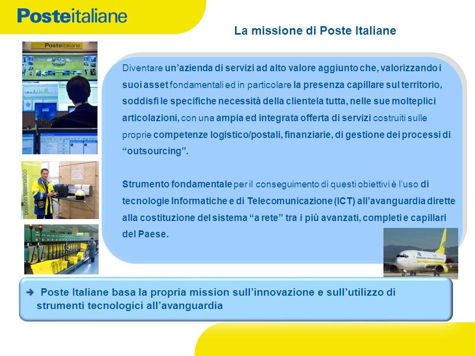 La missione di Poste Italiane