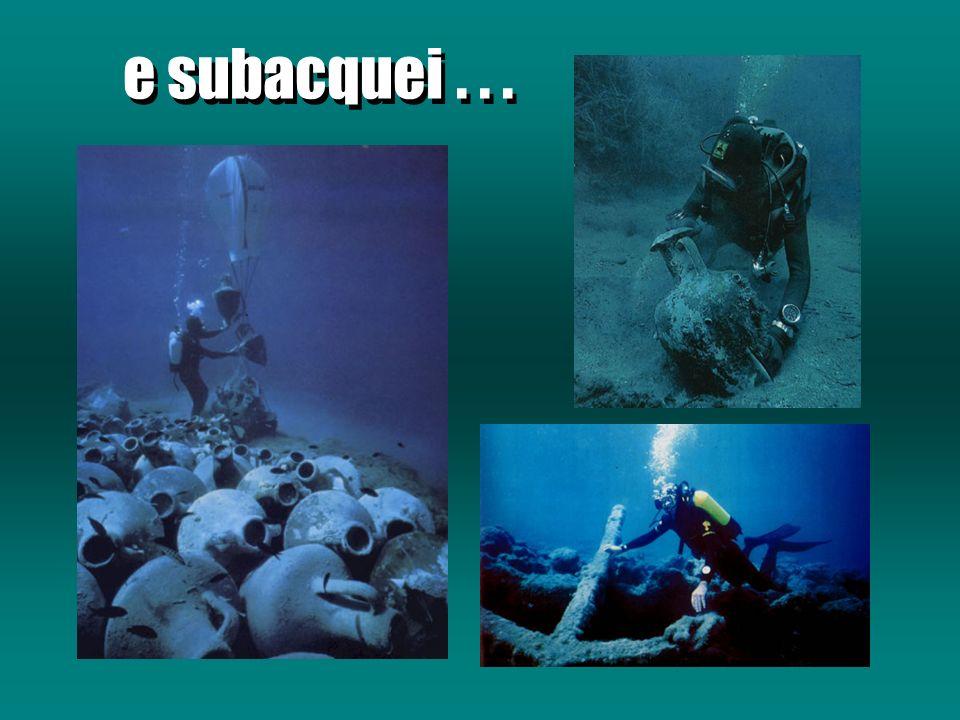 e subacquei . . .