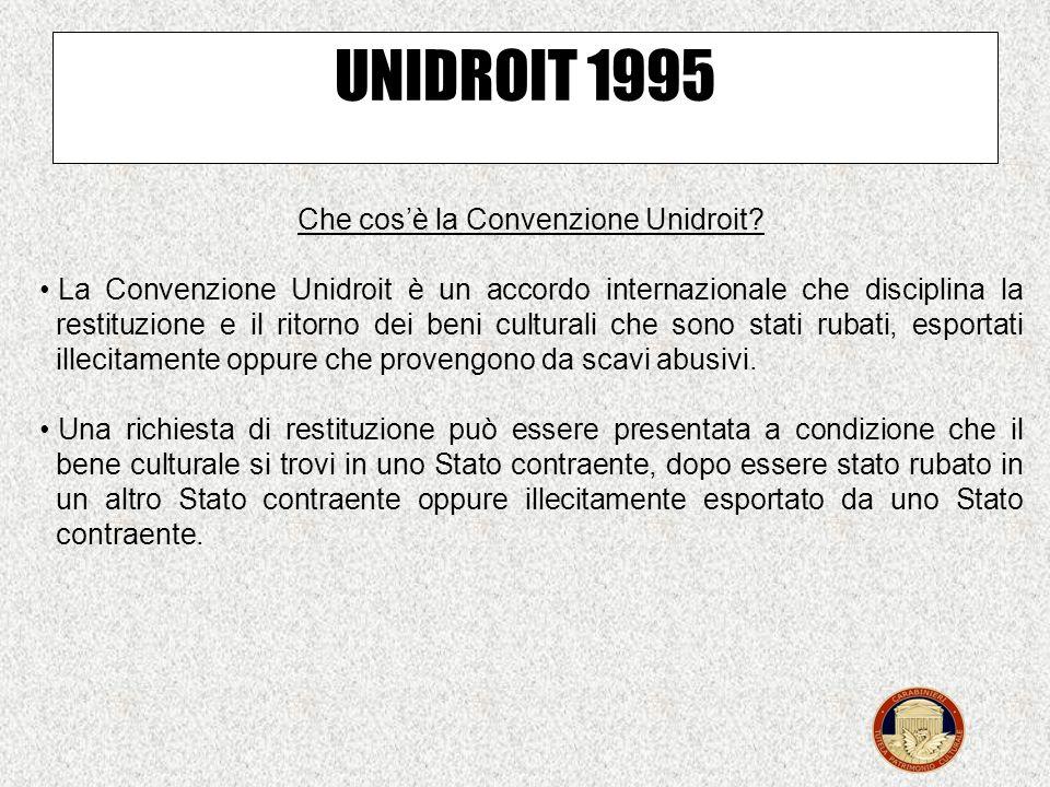 Che cos'è la Convenzione Unidroit