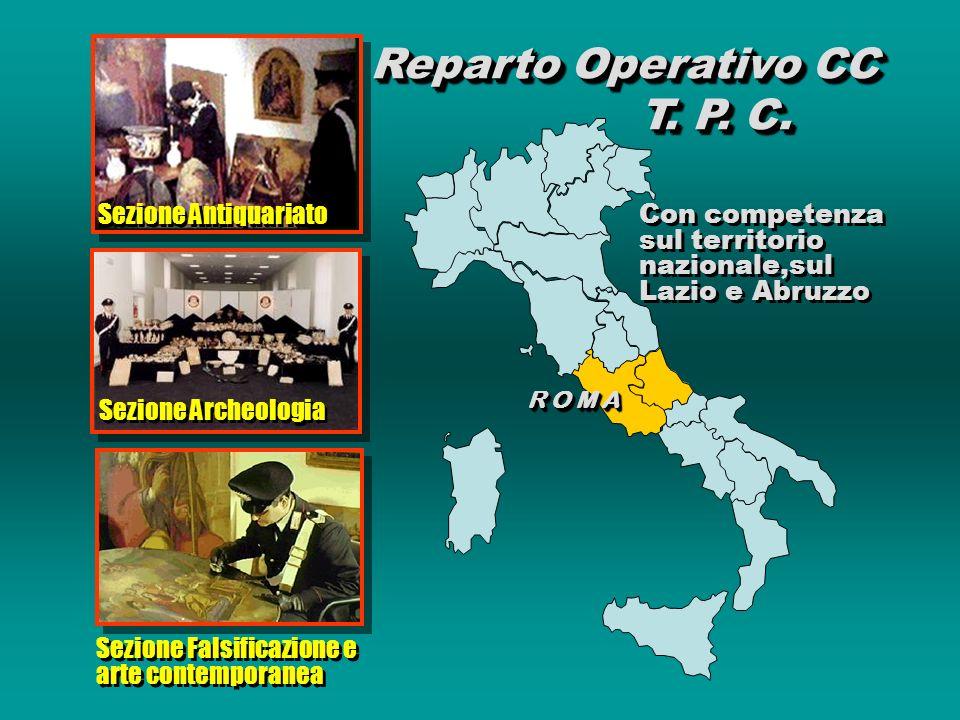 Reparto Operativo CC T. P. C.