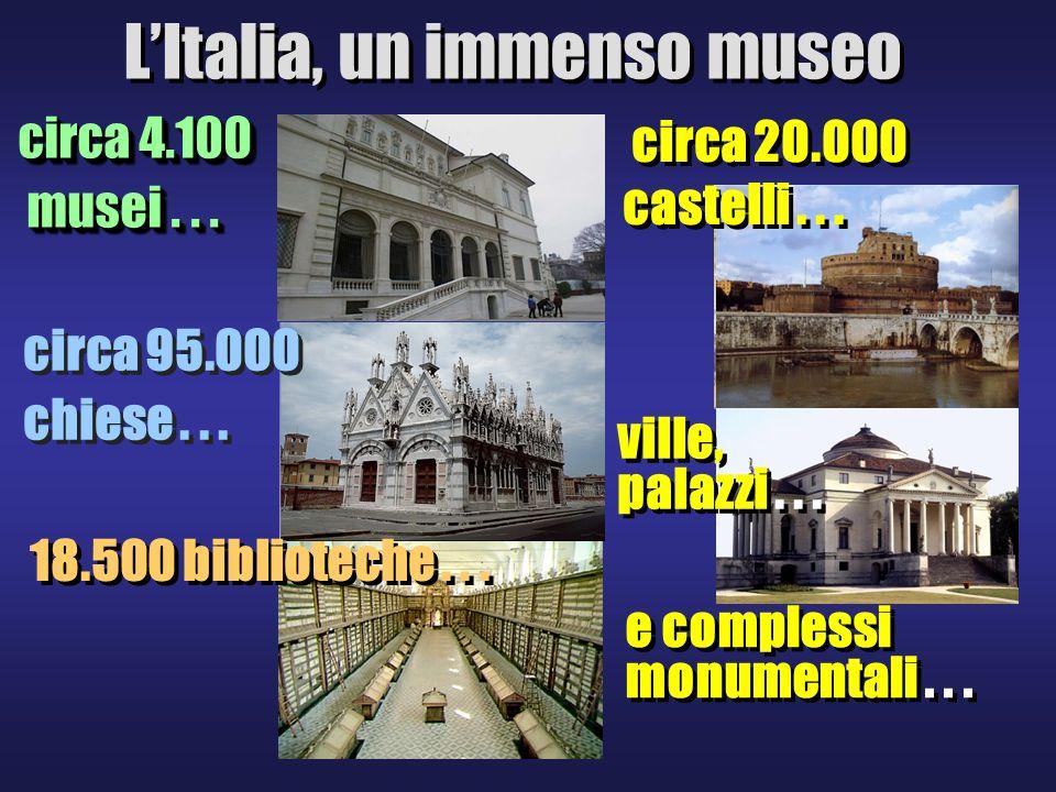 L'Italia, un immenso museo