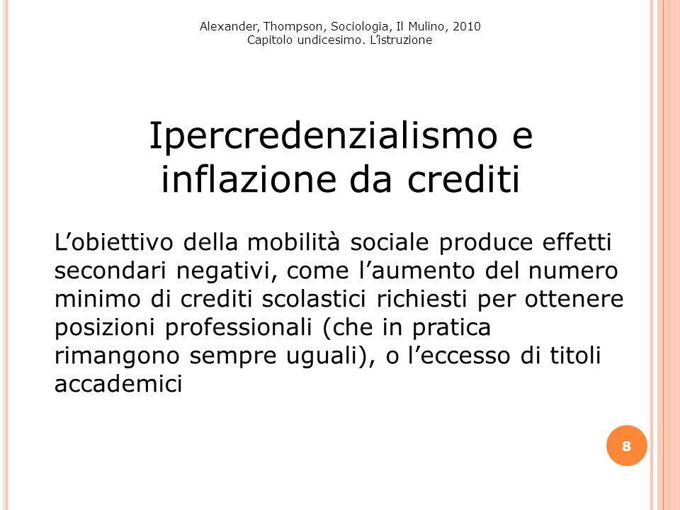 Ipercredenzialismo e inflazione da crediti