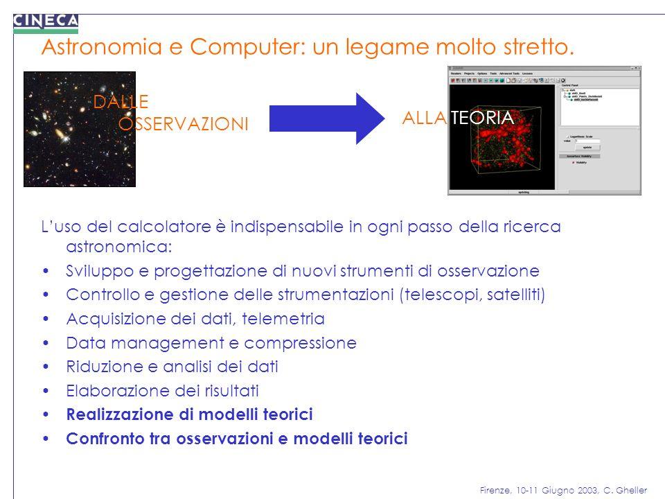 Astronomia e Computer: un legame molto stretto.