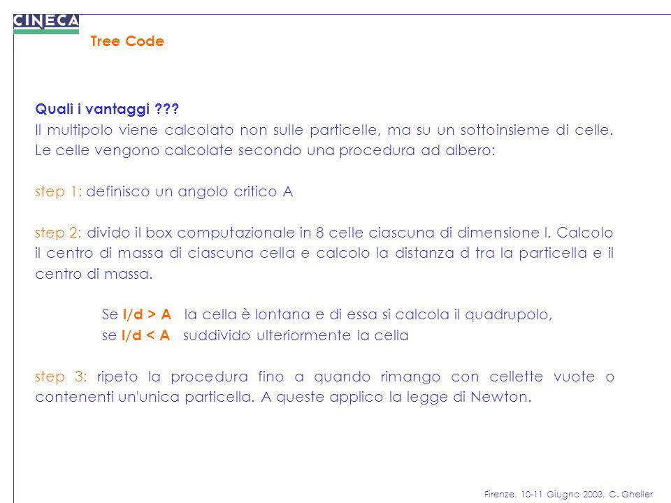 Tree Code Quali i vantaggi