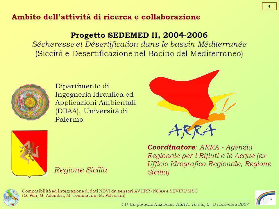 Ambito dell'attività di ricerca e collaborazione