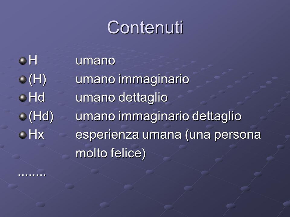 Contenuti H umano (H) umano immaginario Hd umano dettaglio