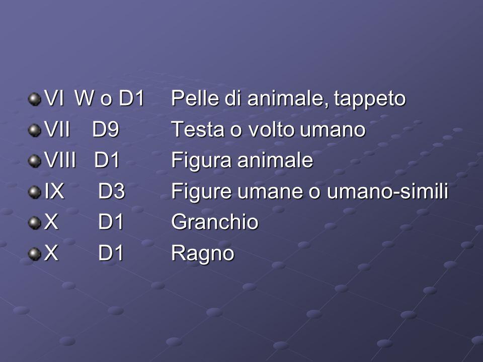 VI W o D1 Pelle di animale, tappeto