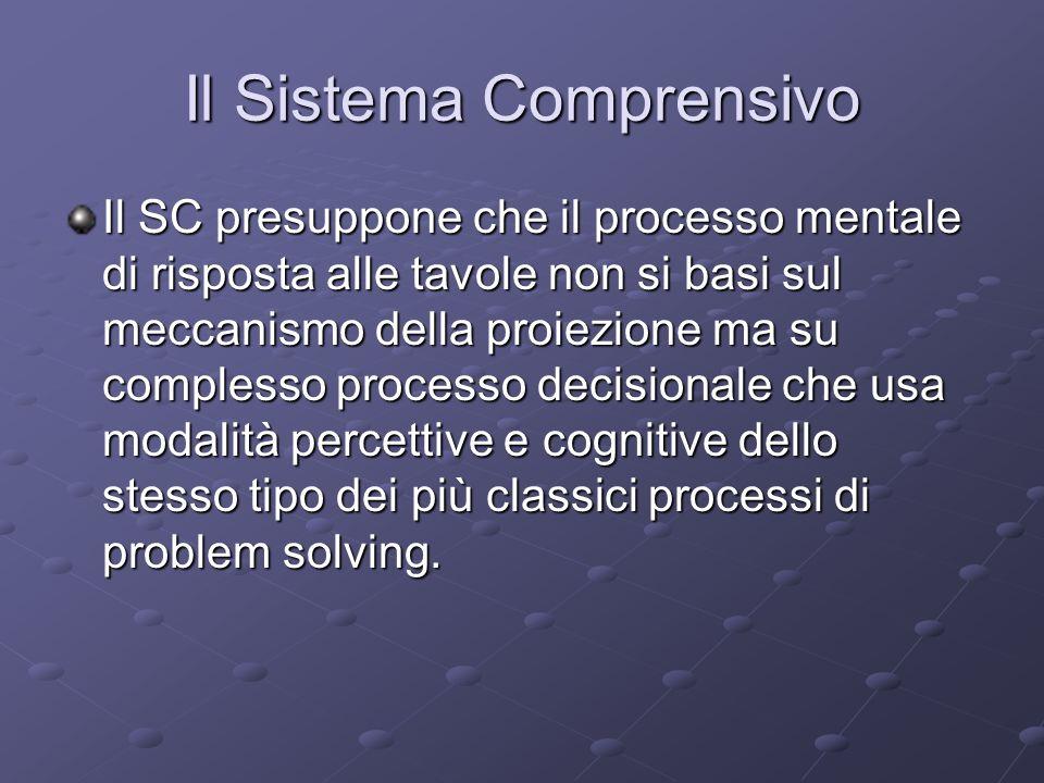 Il Sistema Comprensivo