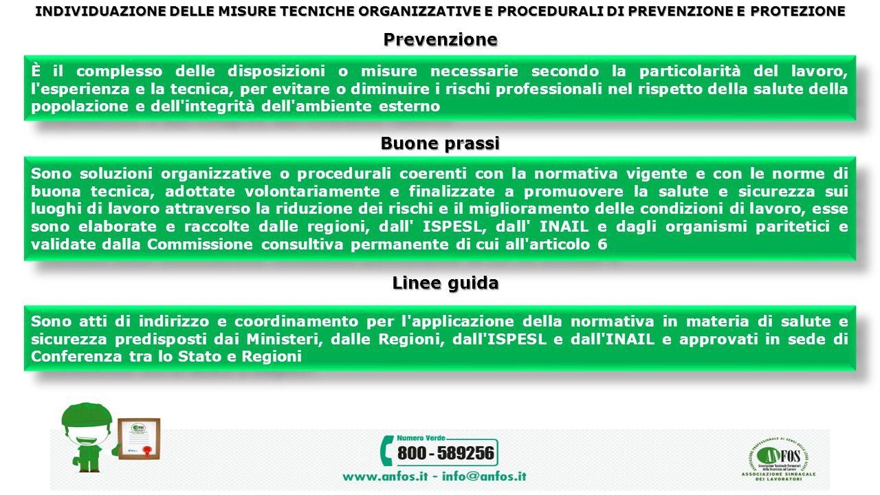 Prevenzione Buone prassi