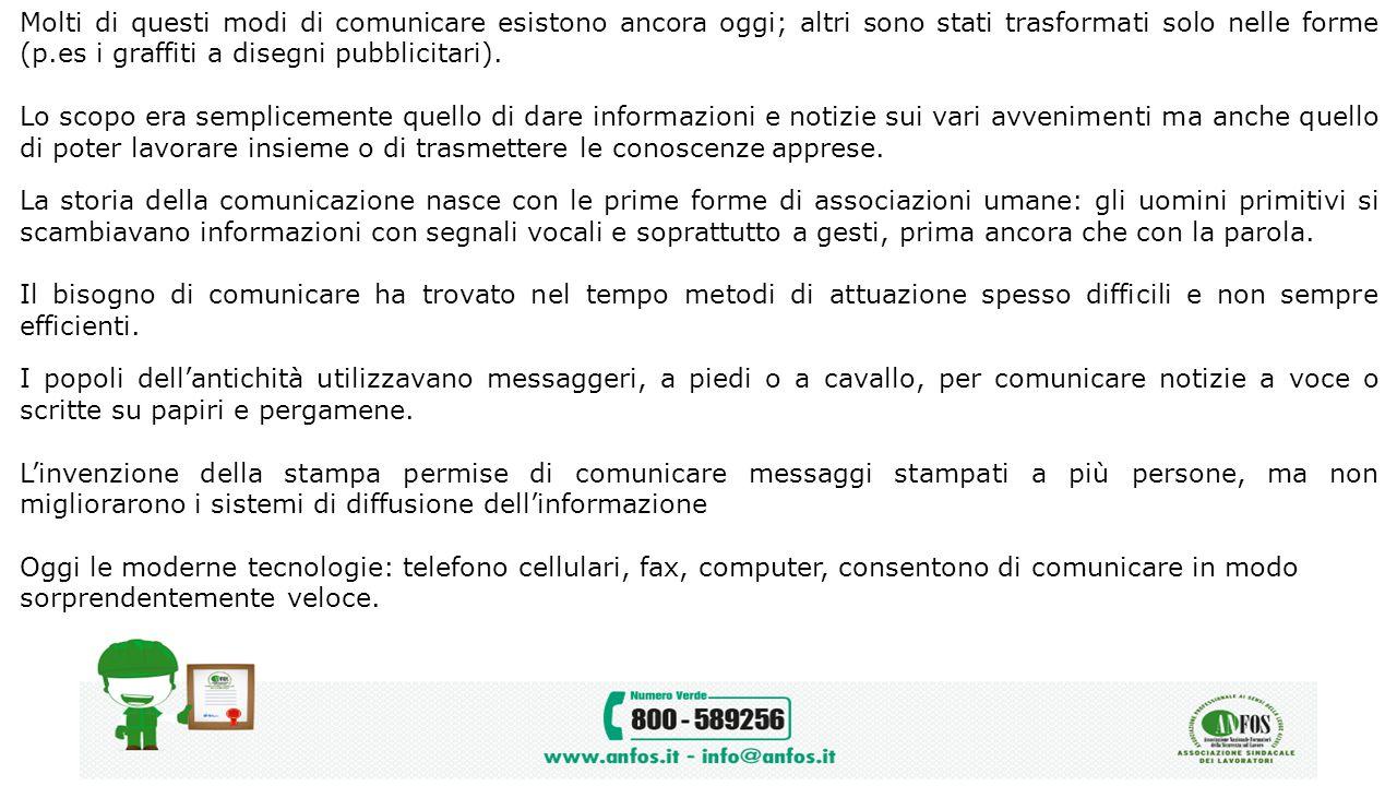 Molti di questi modi di comunicare esistono ancora oggi; altri sono stati trasformati solo nelle forme (p.es i graffiti a disegni pubblicitari).