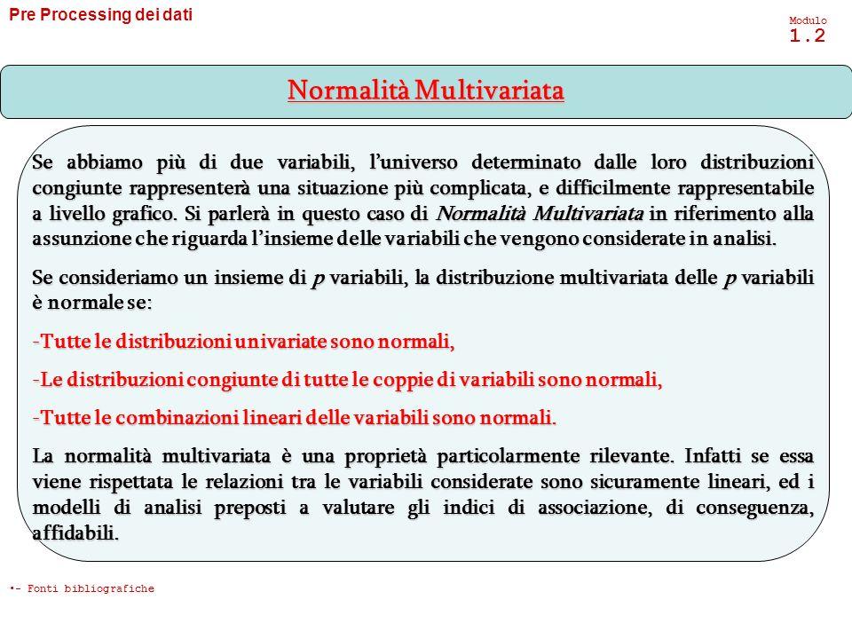 Normalità Multivariata