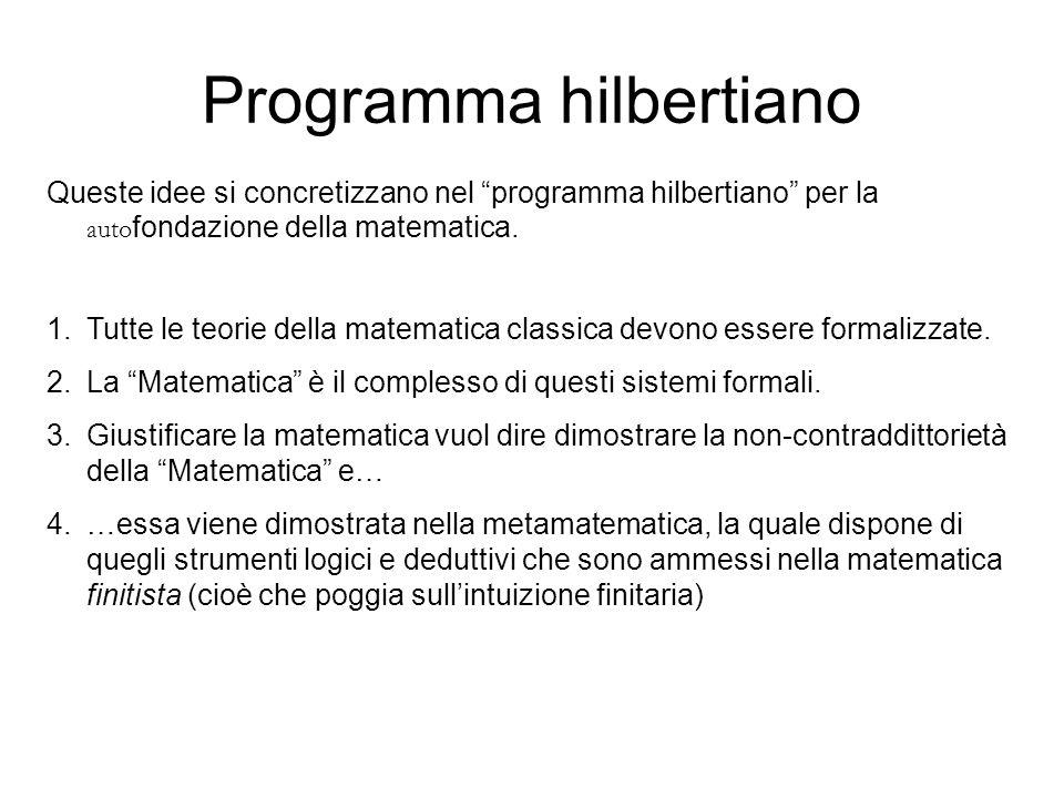 Programma hilbertiano