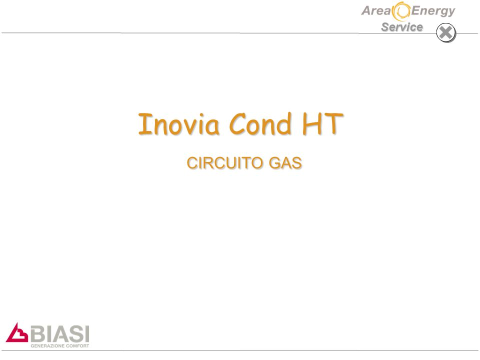 Inovia Cond HT CIRCUITO GAS