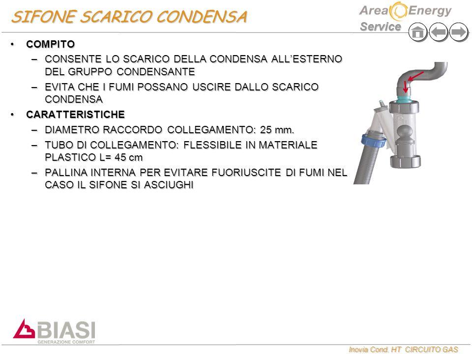 SIFONE SCARICO CONDENSA