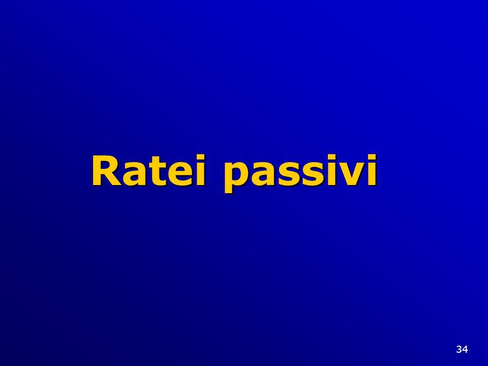 Ratei passivi