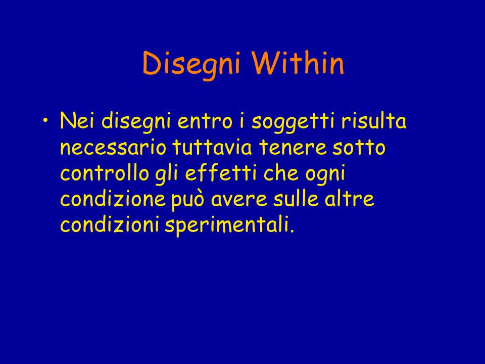 Disegni Within