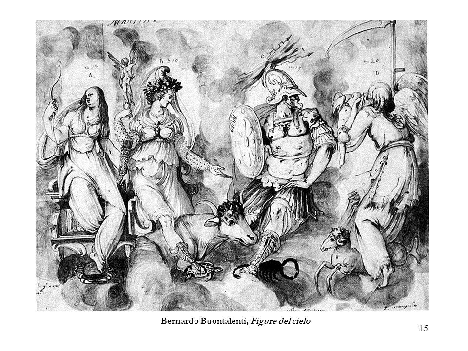 Bernardo Buontalenti, Figure del cielo
