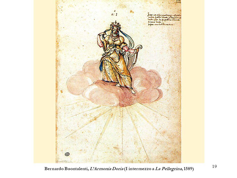 Bernardo Buontalenti, L'Armonia Doria (I intermezzo a La Pellegrina, 1589)