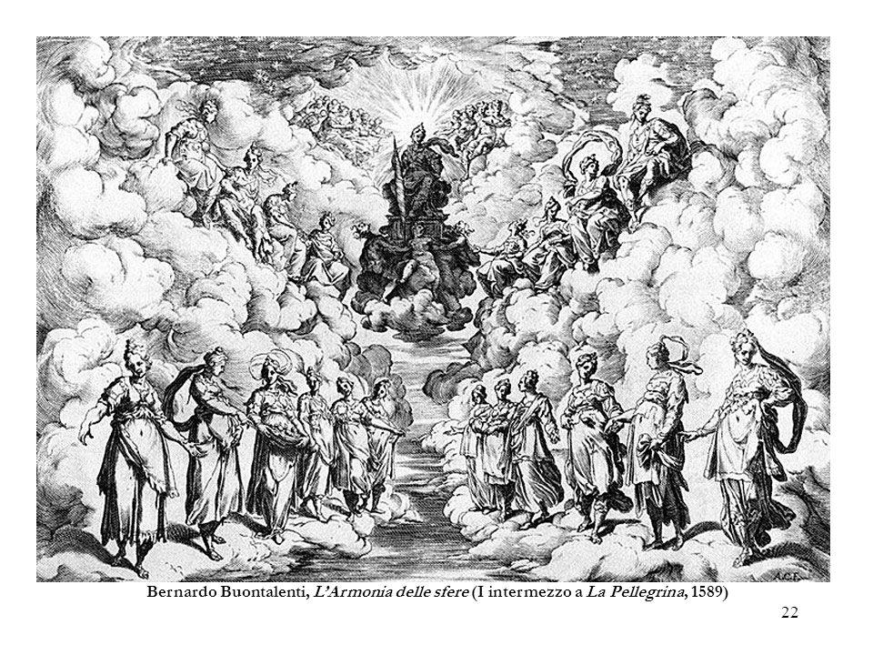 Bernardo Buontalenti, L'Armonia delle sfere (I intermezzo a La Pellegrina, 1589)