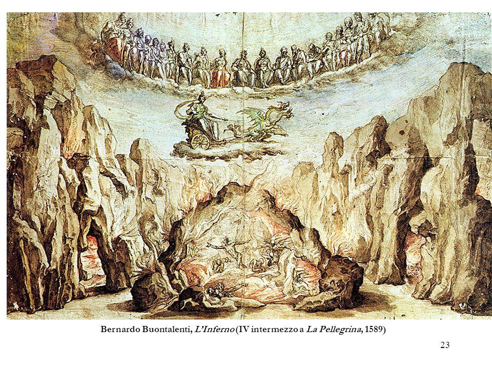 Bernardo Buontalenti, L'Inferno (IV intermezzo a La Pellegrina, 1589)