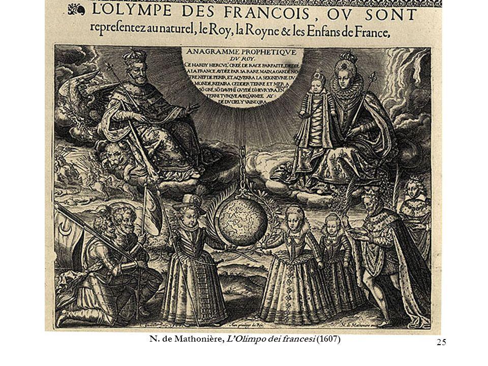 N. de Mathonière, L'Olimpo dei francesi (1607)