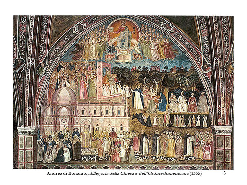 Andrea di Bonaiuto, Allegoria della Chiesa e dell'Ordine domenicano (1365)