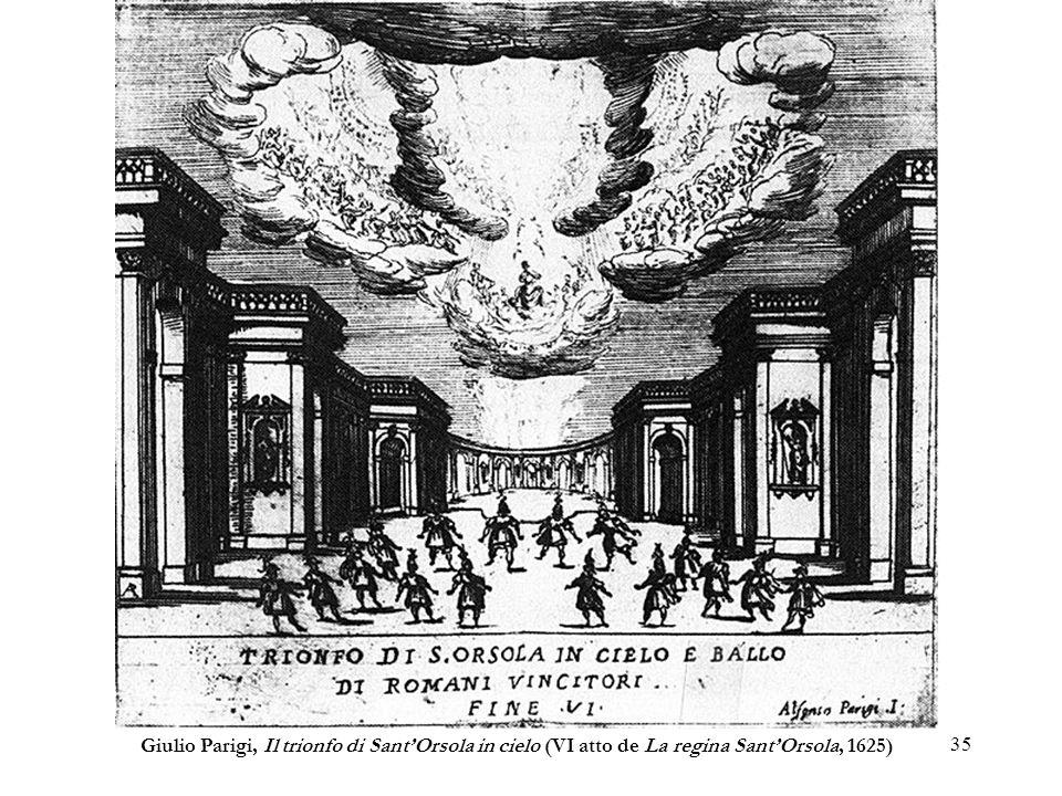 Giulio Parigi, Il trionfo di Sant'Orsola in cielo (VI atto de La regina Sant'Orsola, 1625)