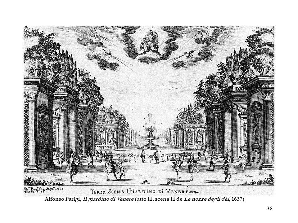 Alfonso Parigi, Il giardino di Venere (atto II, scena II de Le nozze degli dèi, 1637)