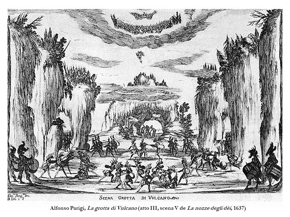 Alfonso Parigi, La grotta di Vulcano (atto III, scena V de La nozze degli dèi, 1637)