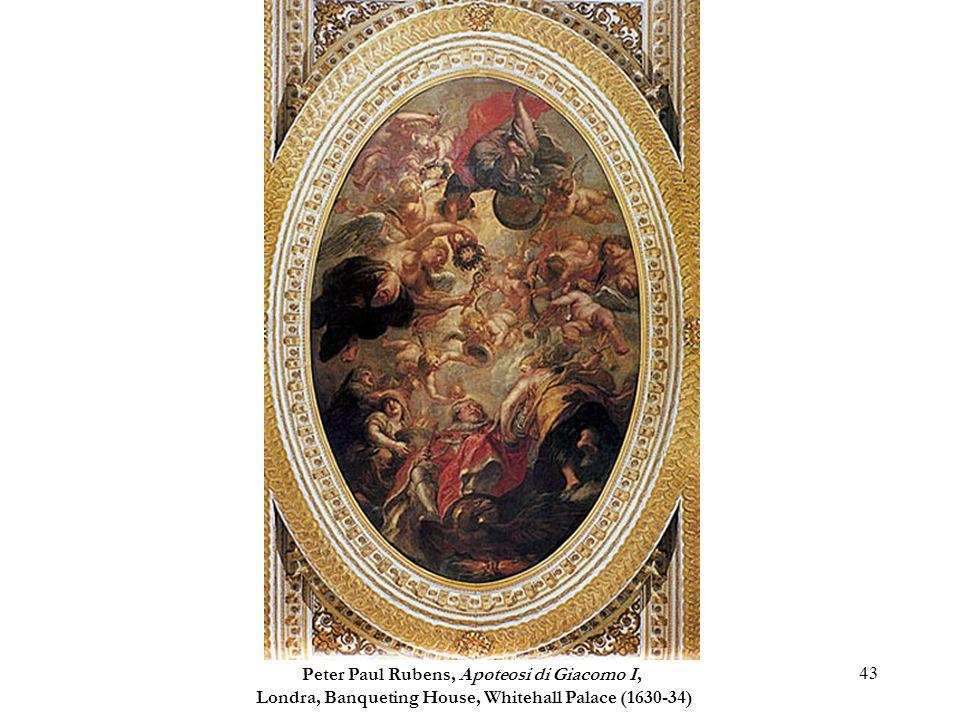 Peter Paul Rubens, Apoteosi di Giacomo I,