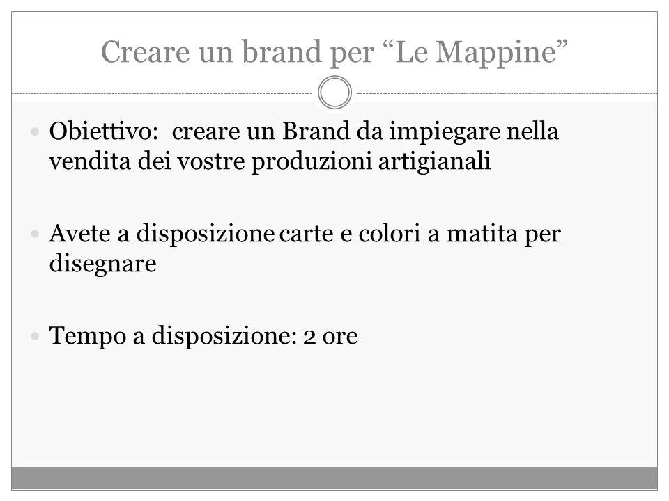 Creare un brand per Le Mappine