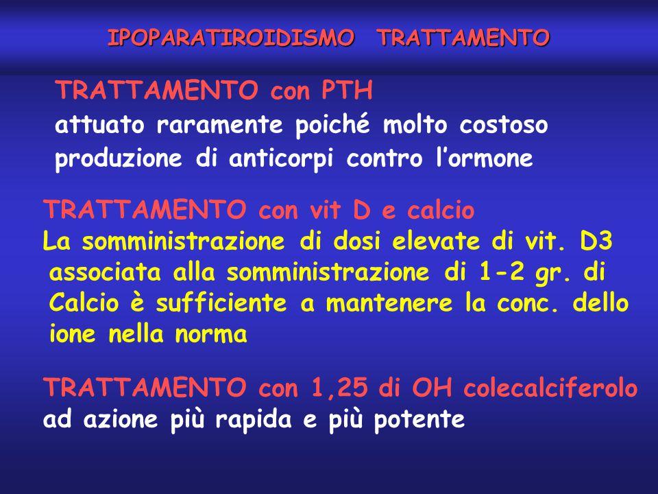 IPOPARATIROIDISMO TRATTAMENTO