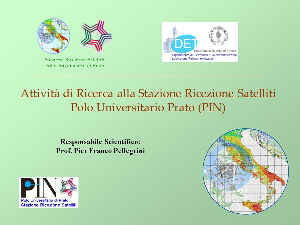 Responsabile Scientifico: Prof. Pier Franco Pellegrini