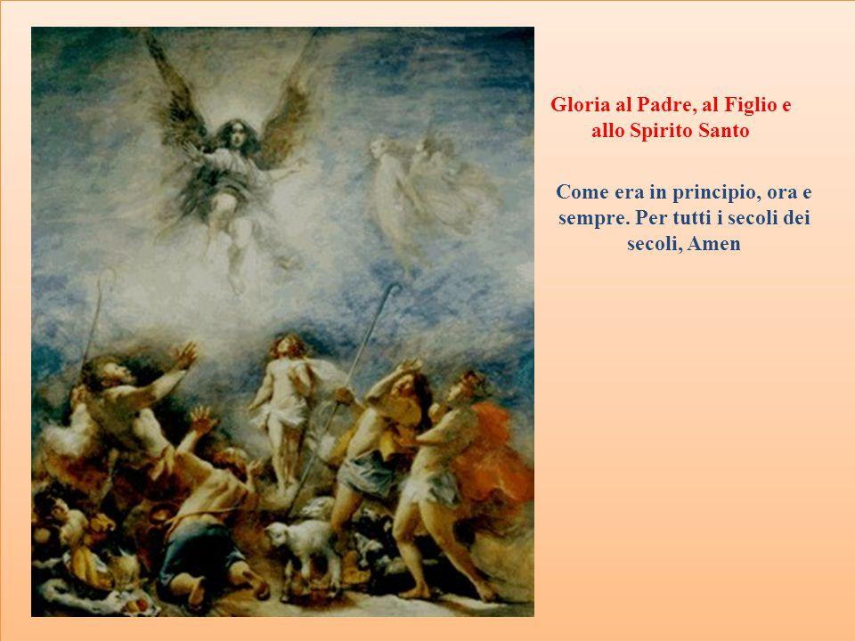 Gloria al Padre, al Figlio e allo Spirito Santo