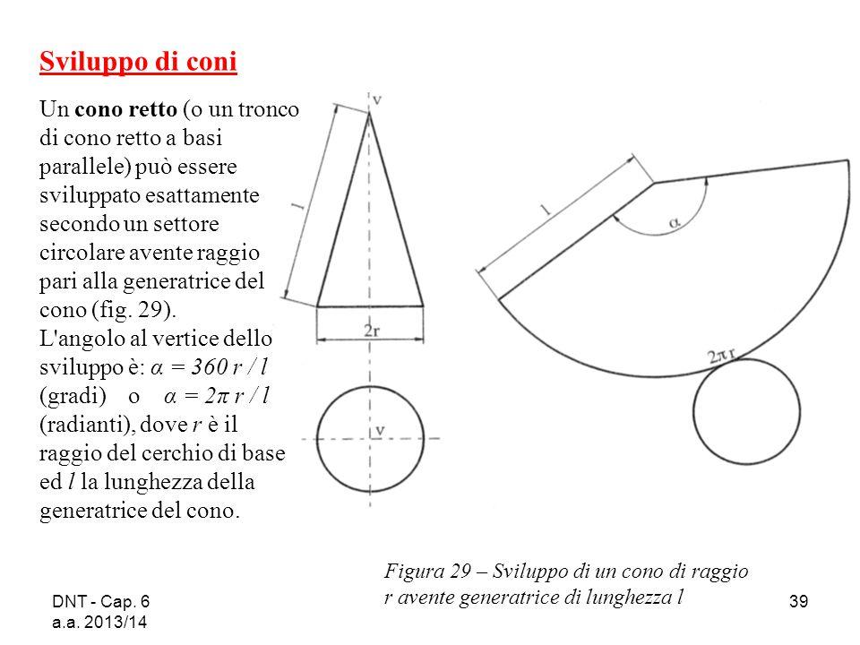 Cap 6 sezioni intersezioni e sviluppi di solidi for Come costruire un mazzo del secondo piano