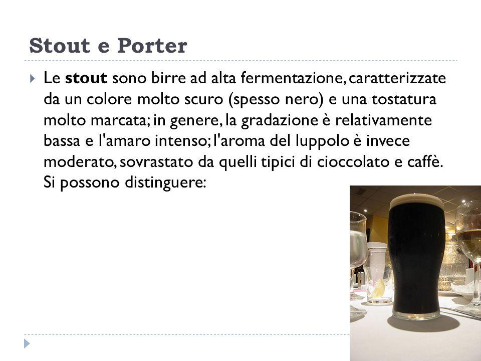 Stout e Porter