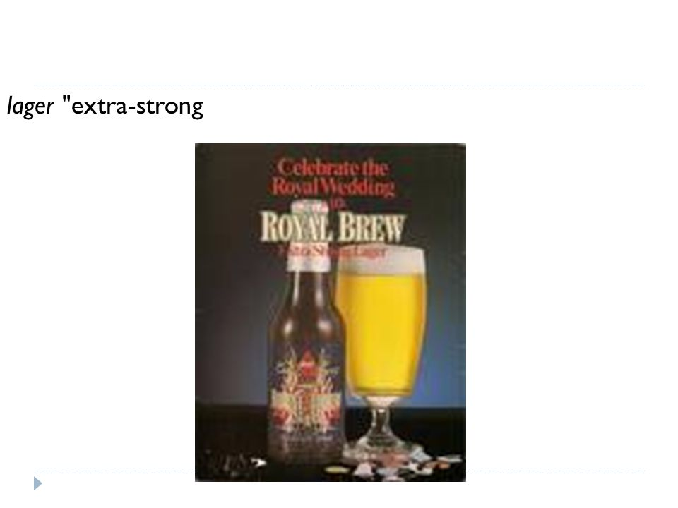 lager extra-strong