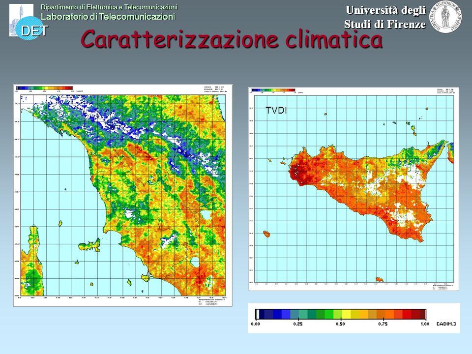 Caratterizzazione climatica