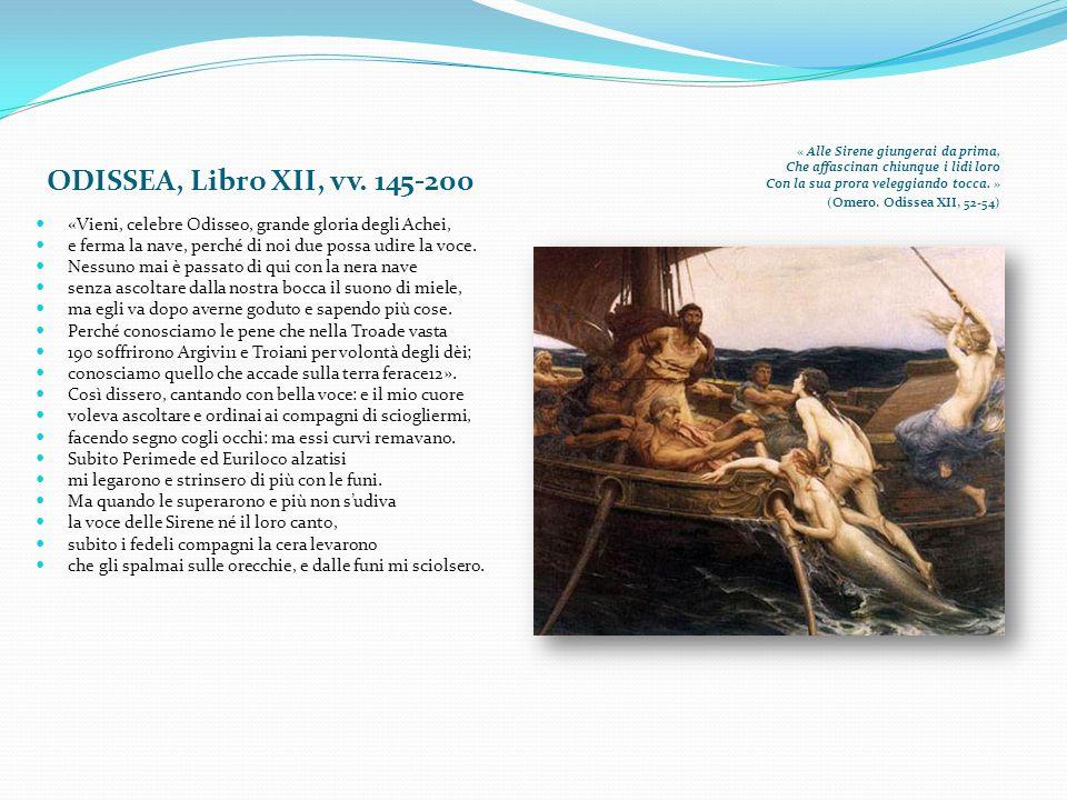 ODISSEA, Libro XII, vv. 145-200