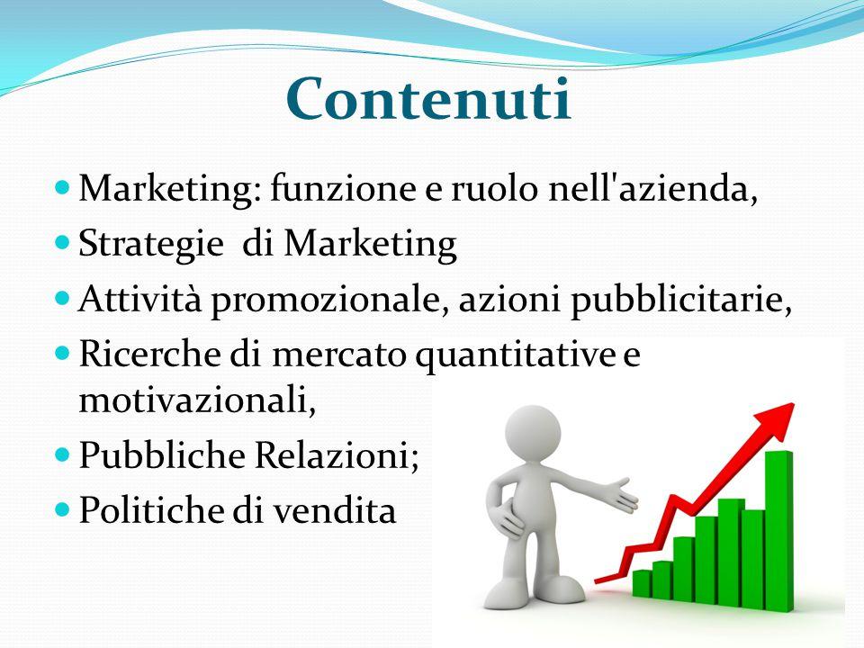 Contenuti Marketing: funzione e ruolo nell azienda,