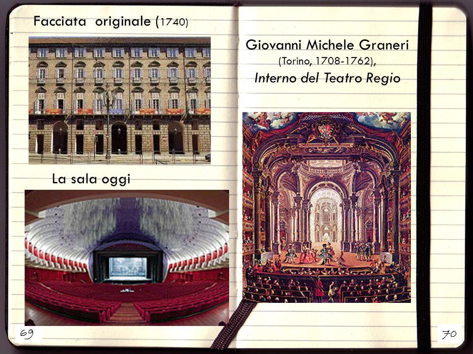 Giovanni Michele Graneri (Torino, 1708-1762), Interno del Teatro Regio