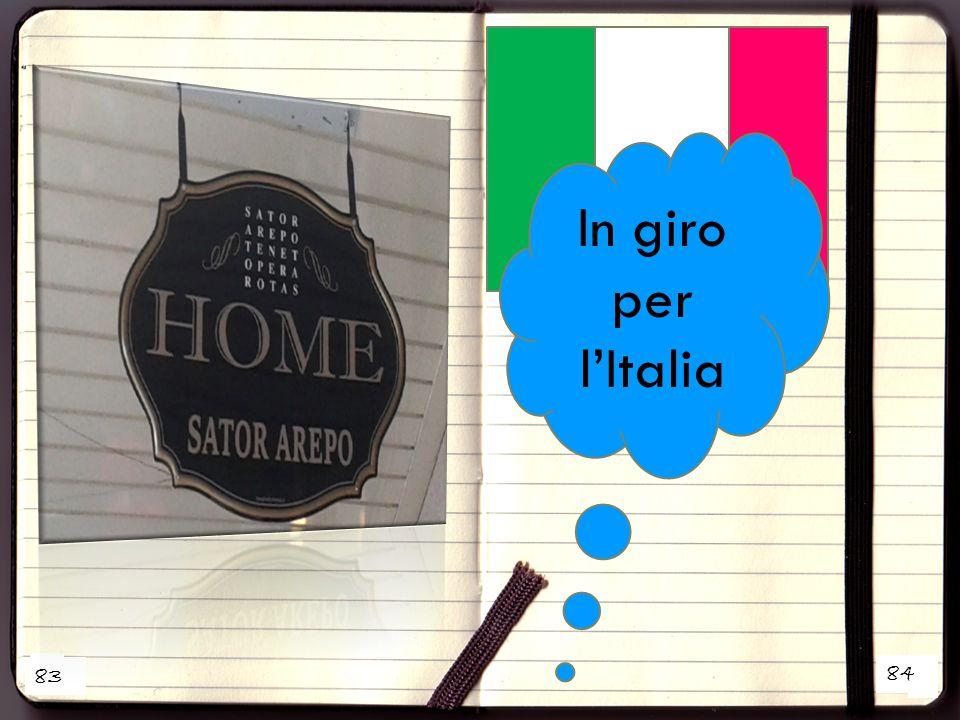 In giro per l'Italia 83 1 84 2 45 45